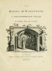 Cover of: The hermit of Warkworth