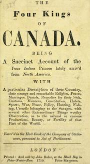 Cover of: The four kings of Canada |