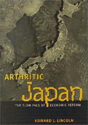 Cover of: Arthritic Japan | Edward J. Lincoln
