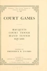 Cover of: Court games