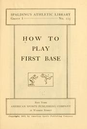 How to play first base by