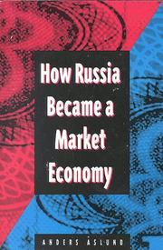 Cover of: How Russia became a market economy