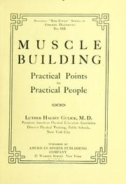 Health by muscular gymnastics by William James Cromie