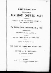 Cover of: Sinclair
