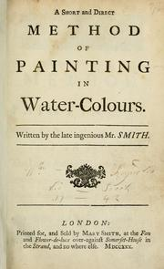 short and direct method of painting in water-colours
