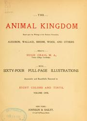 Cover of: The animal kingdom | Hugh Craig