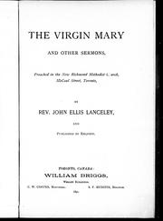 Cover of: The Virgin Mary and other sermons |
