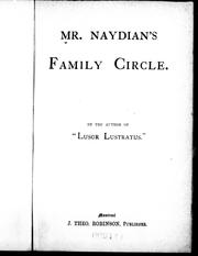 Cover of: Mr. Naydian