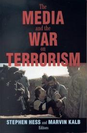 Cover of: The media and the war on terrorism