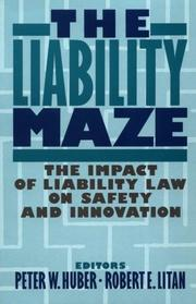 Cover of: The Liability Maze