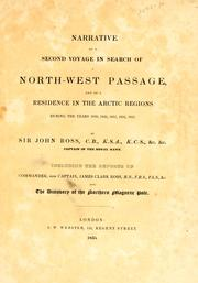 Cover of: Narrative of a second voyage in search of a north-west passage
