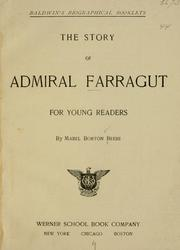 Cover of: The story of Admiral Farragut for young readers | Mabel Borton Beebe