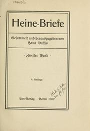 Briefe by Heinrich Heine