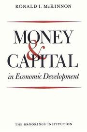 Cover of: Money and capital in economic development