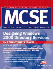 MCSE Designing Windows 2000 Directory Services Instructors Pack