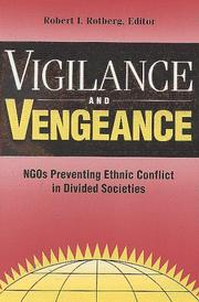Cover of: Vigilance and Vengeance