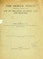 Cover of: The Indian conch (Turbinella pyrum, Linn.) and its relation to Hindu life and religion