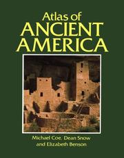 Cover of: Atlas of ancient America | Michael D. Coe