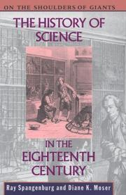 Cover of: The history of science in the eighteenth century