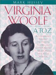Cover of: Virginia Woolf A to Z