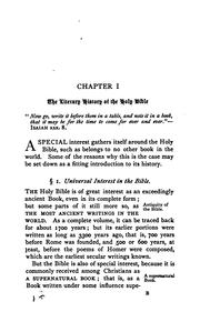 Cover of: A key to the knowledge and use of the holy Bible | John Henry Blunt