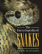Cover of: The encyclopedia of snakes