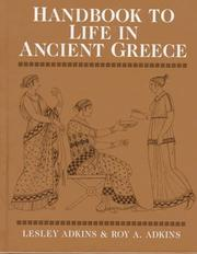 Cover of: Handbook to life in ancient Greece | Lesley Adkins