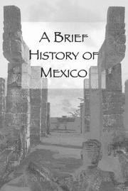 Cover of: brief history of Mexico | Lynn V. Foster