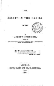 Cover of: A Jesuit in the family
