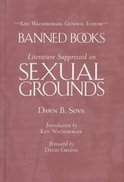 Cover of: Literature suppressed on sexual grounds | Dawn B. Sova