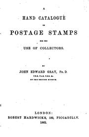 Cover of: A hand catalogue of postage stamps