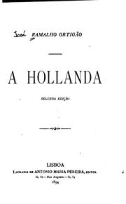 Cover of: A Hollanda