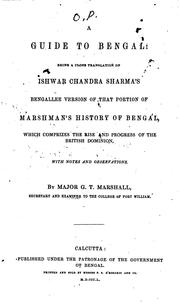 Cover of: A Guide to Bengal