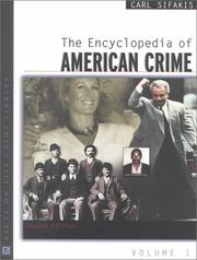 Cover of: The encyclopedia of American crime
