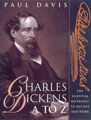 Charles Dickens A to Z by Paul B. Davis