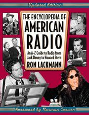 Cover of: The encyclopedia of American radio