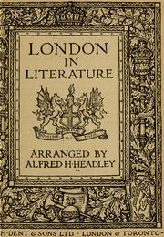 Cover of: London in literature
