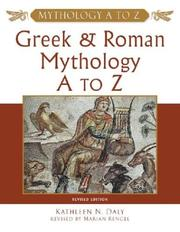 Cover of: Greek and Roman mythology A to Z | Kathleen N. Daly
