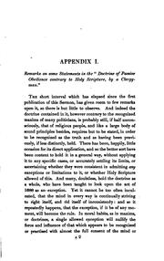 Cover of: Appendices to the Sermon Preached by the Rev. E.B. Pusey, D.D. on the Fifth of November, 1837 ..