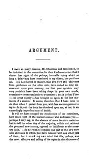 Cover of: Argument for the Division of Worcester County: On the Petition of O.L. Huntley and Others ..