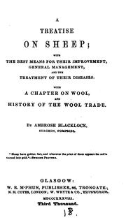 A treatise on sheep by Ambrose Blacklock