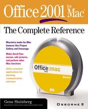 Cover of: Office 2001 for Mac
