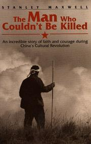 Cover of: The man who couldn't be killed
