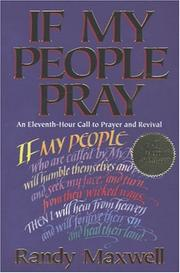 Cover of: If my people pray