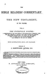The Bible Reader's Commentary. The New Testament, in Two Volumes: The New ..