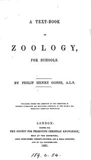 Cover of: A text-book of zoology for schools