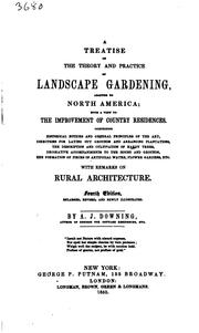 Cover of: A Treatise on the Theory and Practice of Landscape Gardening: Adapted to ..