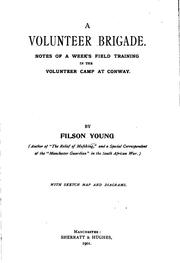 Cover of: A Volunteer Brigade: Notes of a Week's Field Training in the Volunteer Camp ..