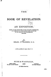 Cover of: The Book of Revelation: An Exposition, Based on the Principles of Prof. Stuart's Commentary, and ..