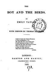 Cover of: The boy and the birds, with designs by T. Landseer | Emily Taylor